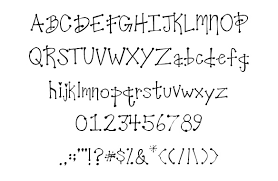 クオリティが高く可愛い落書き風フリーフォント40個集めました