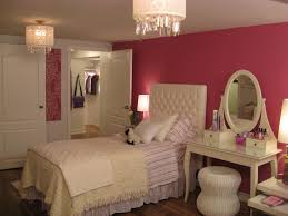 bedroom cute pink girls room combined with black and white chandelier beautiful