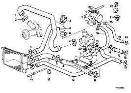 bmw n63 engine diagram bmw image wiring diagram original parts for e34 525i m20 sedan engine cooling system on bmw n63 engine diagram