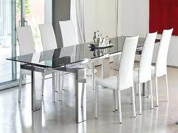 marvelous modern glass dining tables to inspire you today a discover the seasons newest designs table
