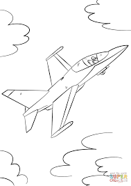 Small Picture Military Fighter Jet coloring page Free Printable Coloring Pages