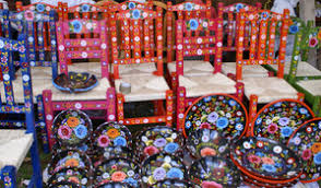 painted mexican furnitureMexico Cooks Not in Any Guide Book Why You Will Love a Mexico