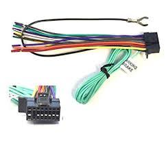 sony car stereo wiring harness data diagram schematic amazon com asc car stereo power speaker wire harness plug for sony sony car cd player wiring diagram sony car stereo wiring harness