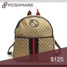 gucci used. gucci backpack brand new had it for a year now .. never used awesome quality s