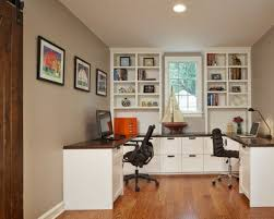 person office layout. office desk for two double home person layout