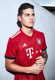 Fc bayern munich 2020/21 kit for dream league soccer 2021 (dls21), and the package includes complete with home kits, away and third. Adidas Launch Bayern Munich 18 19 Home Shirt Soccerbible