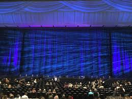 seating view for park theater at park mgm section 203 row k seat 7 8
