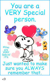 Image result for you are very special to me