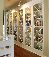 mesmerizing bookcase with glass doors view in gallery x motif custom designed glass doors give these