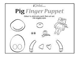 Pig Finger Puppet Ichild