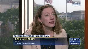 Carrie Johnson on Attorney General Testimony | C-SPAN.org