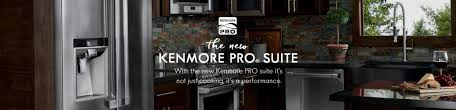 kenmore appliances. sears holdings\u0027 kenmore team is proud today to introduce a new innovative line of appliances called pro® designed fit into the aspiring p