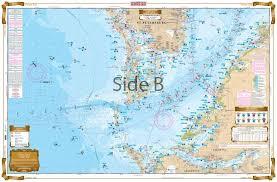 Tampa Bay Marine Chart Tampa Bay Area Inshore Fishing Chart 22f