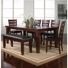 table 4 chairs and bench. crown mark bardstown 6 piece dining set w/ 4 chairs \u0026 bench table and u