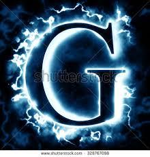 letter g lightning letter g stock illustration 328767098 shutterstock