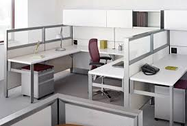 modern grey modular furniture. Beautiful Modular Office Furniture With L Shaped Desk Modern Plus Chairs Comfy And Lamp Along Small Cabinets Grey Carpet For Room Home Systems Best Designs E