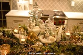 Apothecary Jars Christmas Decorations 100 Pretty Christmas Table Decorations Settings 93