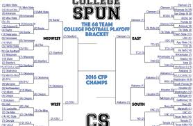 How A 68 Team College Football Playoff Wouldve Played Out