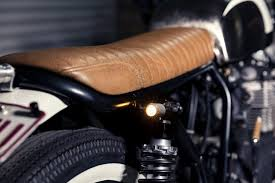 custom upholstery motorcycle seats brat cafe racer gold coast qld leather