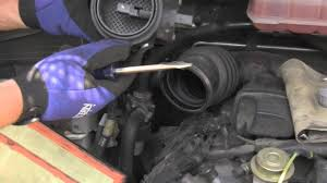 Otherwise get an expensive replacement for the air flow sensor. Mercedes Ml320 Maf Sensor Inspection Cleaning Youtube