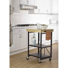 folding small kitchen island cart