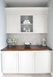 white painted cabinetsPainted Bathroom Cabinets  Centsational Style