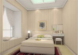 Bedroom:Adorable Small Bedroom Design With Lighting Idea Tiny Bedroom  Decoration With Stripes Wall And