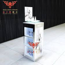 Make Up Stands And Displays Extraordinary Retail Or Custom Wooden Display CabinetsCosmetic Display Stands