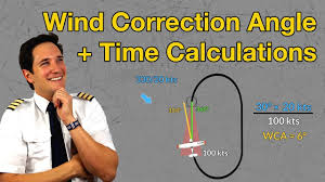 Wind Correction Chart Wind Correction Angle Time Calculations In Holding Part 3 Explained By Captain Joe