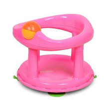 safety 1st swivel bath seat for baby pink 6m to 10kg easy clean