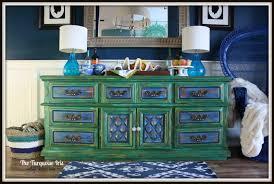 emerald green furniture. Emerald Green Buffet / Dresser Distressed \u0026 A Shot Of Cobalt Feathers Furniture B