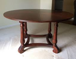 ethan allen british clics 56 round dining table w 20 leaf ebay