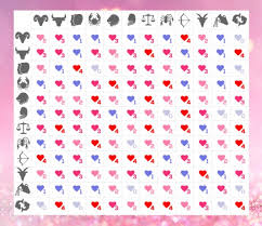 Detailed Astrology Compatibility Chart Sign Compatibility Chart Love Horoscope Zodiac Signs In