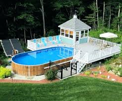 average cost of a deck average cost above ground pool with deck above ground pool deck average cost
