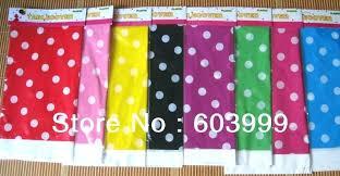 polka dot table cloths decorative plastic rectangular tablecloth