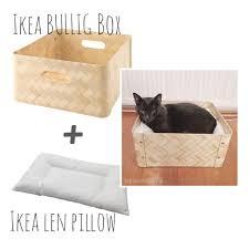 the moomincats blog simple diy cat bed from ikea