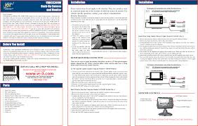 Wireless Reverse Camera Wiring Diagram Camera Wiring Schematic