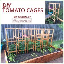 Diy tomato cage Vegetable Garden Creatingmaryshomecom Diy Tomato Cage Tutorial garden Tips Creatingmaryshomecom