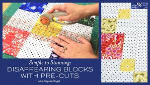 Disappearing Four-Patch Tutorial & pre-cut disappearing blocks Adamdwight.com