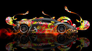 lamborghini huracan super abstract car