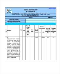 5 Contractor Quotation Samples Templates In Pdf