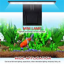 Aquarium LED Beleuchtung Pflanzen Wachsen Licht Aquarium Wasserdicht  Clip Auf Lampe