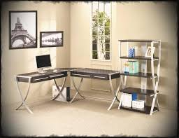 home office for two. Awesome Person Corner Desk With Regard To Home Office Two Desks Diy Dask Hiden Modern Intended For