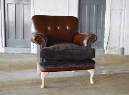 leather chesterfield chair. Handmade Chatsworth Leather Chesterfield Sofa Chair E