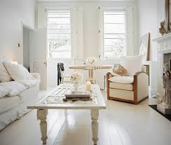 White Living Room Decorating Shabby Chic Living Room Photos 11 Of 12