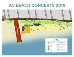 Atlantic City Beach Concert Seating Chart Atlantic City Map Gaspsable Live