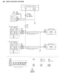 subaru seat heater wiring wiring diagram used