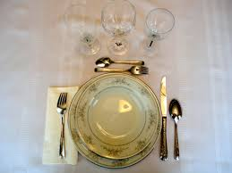 Table Setting In French The Queen Of England Eats Like Shes French English Versus