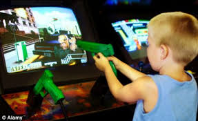 violent films video games and tv shows do make boys aggressive violent computer game