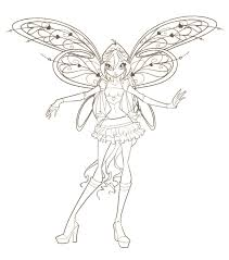 Winx Club Coloring Pages Getcoloringpagescom